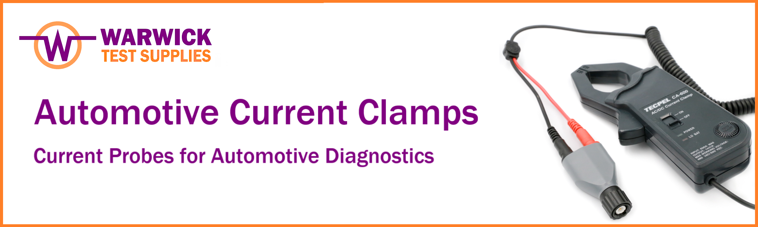 Guide to Automotive Current Clamps